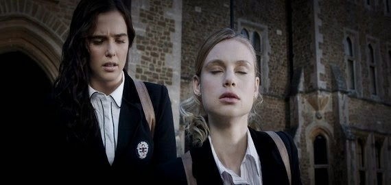 Screen Shot Of Hollywood Movie Vampire Academy (2014) Download And Watch Online Free at Alldownloads4u.Com
