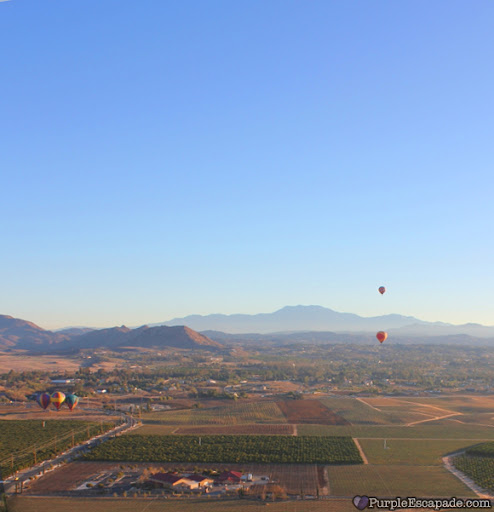 temecula hot air ballooning