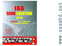 IBA Bank Job Solution MCQ - PDF Download