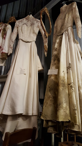 Clean and dirty wedding dress at the Stratford Festival Costume Warehouse. From Visiting Stratford, Ontario? The first thing you need to do...
