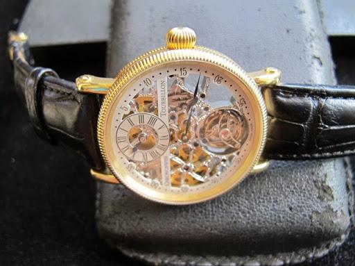 Bán đồng hồ chronoswiss skeleton tourbillon – CH 3121 – vàng 18k – lên giây thiều – size 38mm