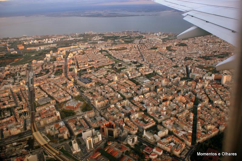 Levantar voo em Lisboa