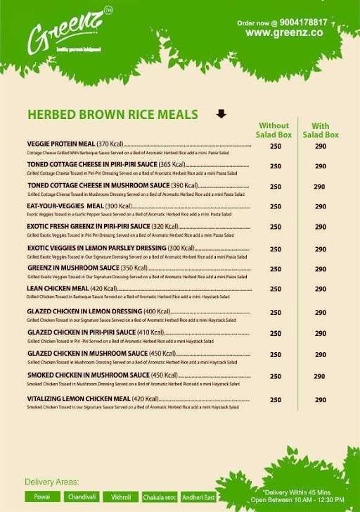 Greenz menu 3
