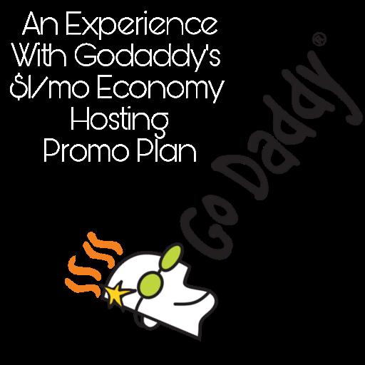 Godaddy $1/mo hosting promo