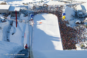 Photo: World Cup Ski flying Vikersund HS225