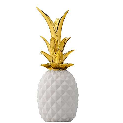 20 beautiful gold pineapples for home decor - the kim six fix