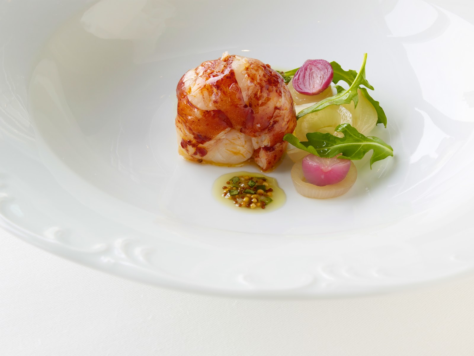 Argus Guide - Per Se - Butter Poached Nova Scotia Lobster