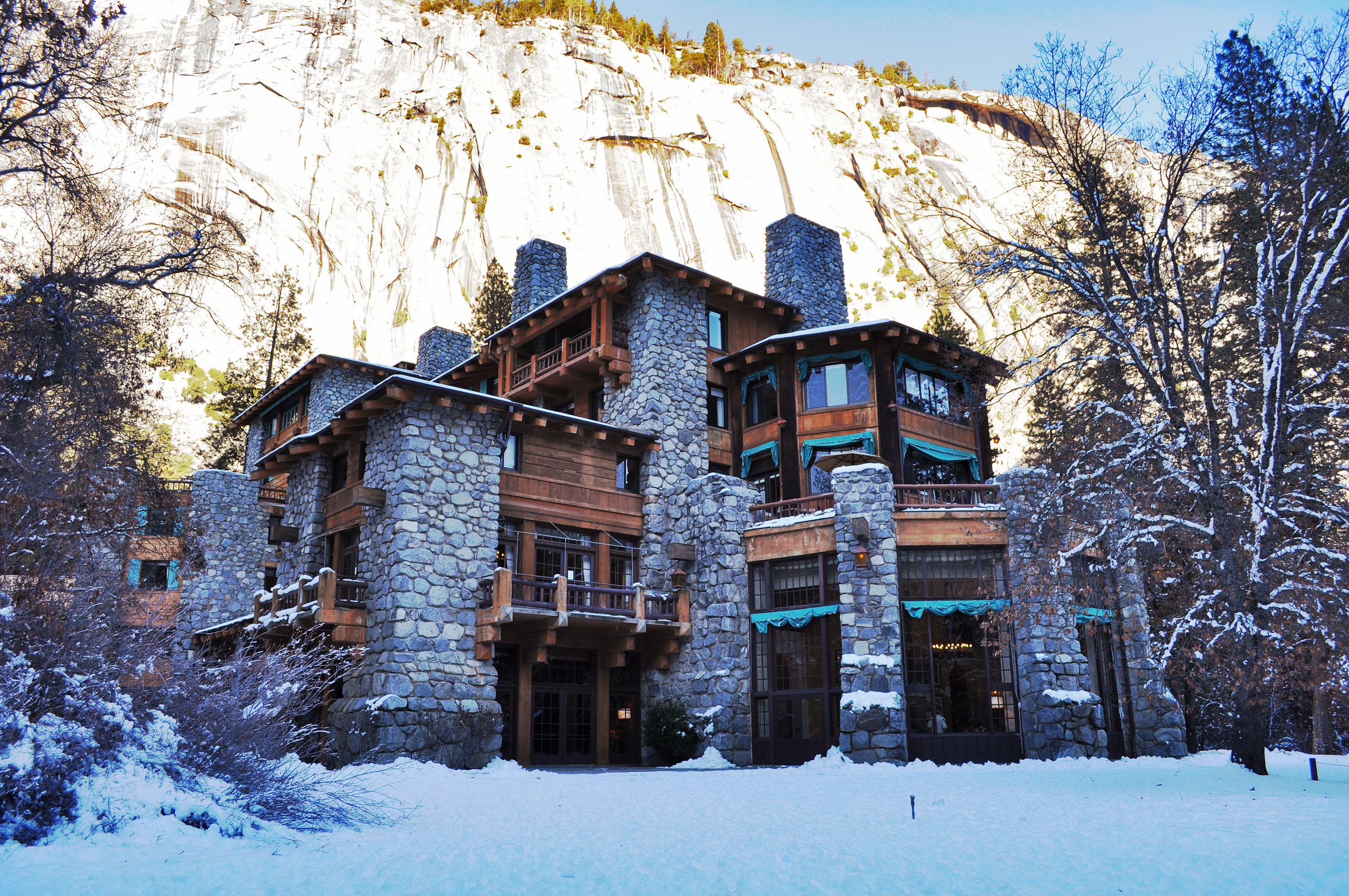 Ahwahnee hotel yosemite valley architecture revived for Design hotel yosemite