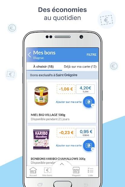 Mon E.Leclerc Android App Screenshot