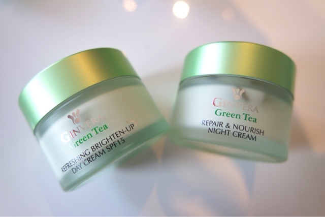 Ginvera Green Tea Range