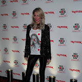 WWW.ENTSIMAGES.COM -  Denise Van Outen at Red Nose Day One Night Changes Everything Event at Royal Opera House Covent Garden London February 28th 2013                                                         Photo Mobis Photos/OIC 0203 174 1069