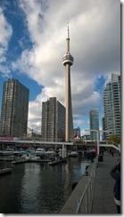 Toronto skyline, including CN Tower