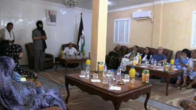 رئيس الجمهورية يودع فوج الحجاج الصحراويين