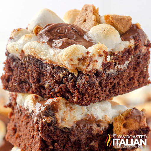 The Ultimate Smores Brownie