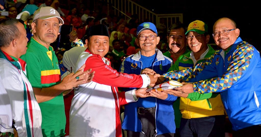 Porda Jabar ke-XII Tahun 2018 Sukabumi Sabet 39 Medali