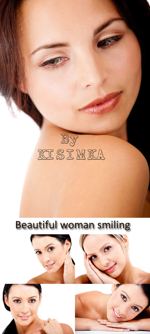 Stock Photo: Beautiful woman smiling