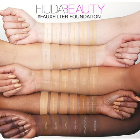 ChiQ London: HUDA BEAUTY FAUX FILTER FOUNDATION REVIEW