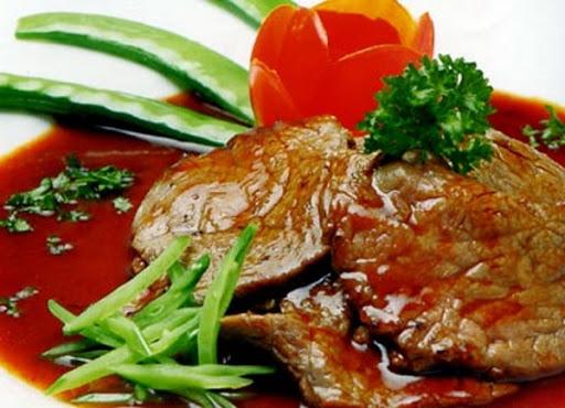 Thịt bò áp chảo