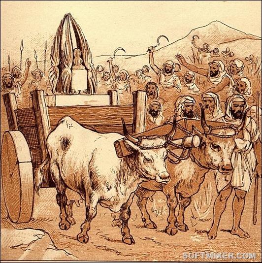 Ark_comes_to_Beth-shemesh