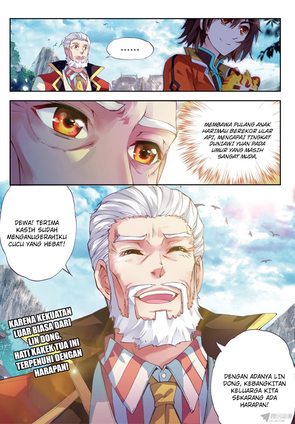 Baca Manga Wu Dong Qian Kun Chapter 21 Komik Station