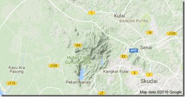 lokasi-map-gunung-pulai