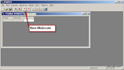 (1) Load New Molecules