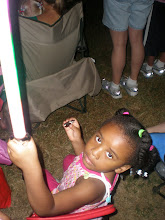 Photo: Kaleya w/ her light sabre