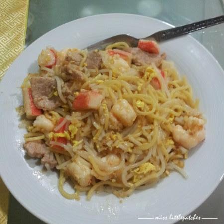 Stir-Fry Prawn Noodle