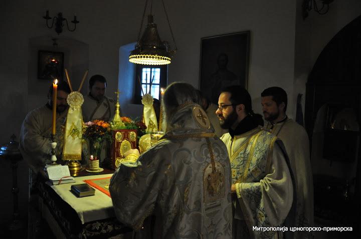 Митрополит Амфилохије на Јовањдан служио у Цетињском манастиру