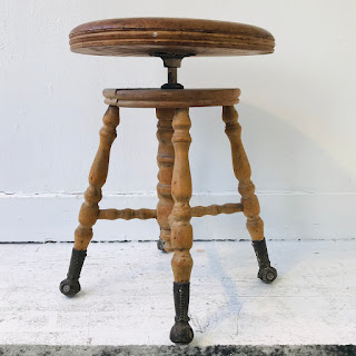 Charles Parker Co. Piano Stool
