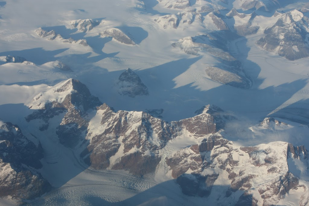 Blick über Grönland