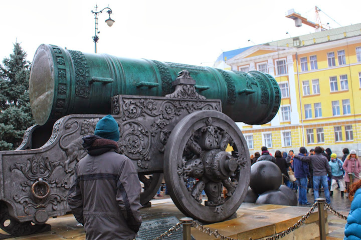 Tsar Cannon and Bell, Kremlin