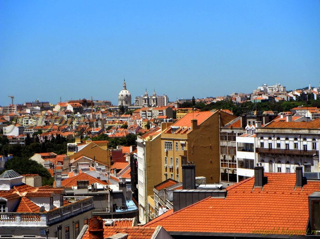 Вид из отеля Пенсао Лондрес Лиссабон