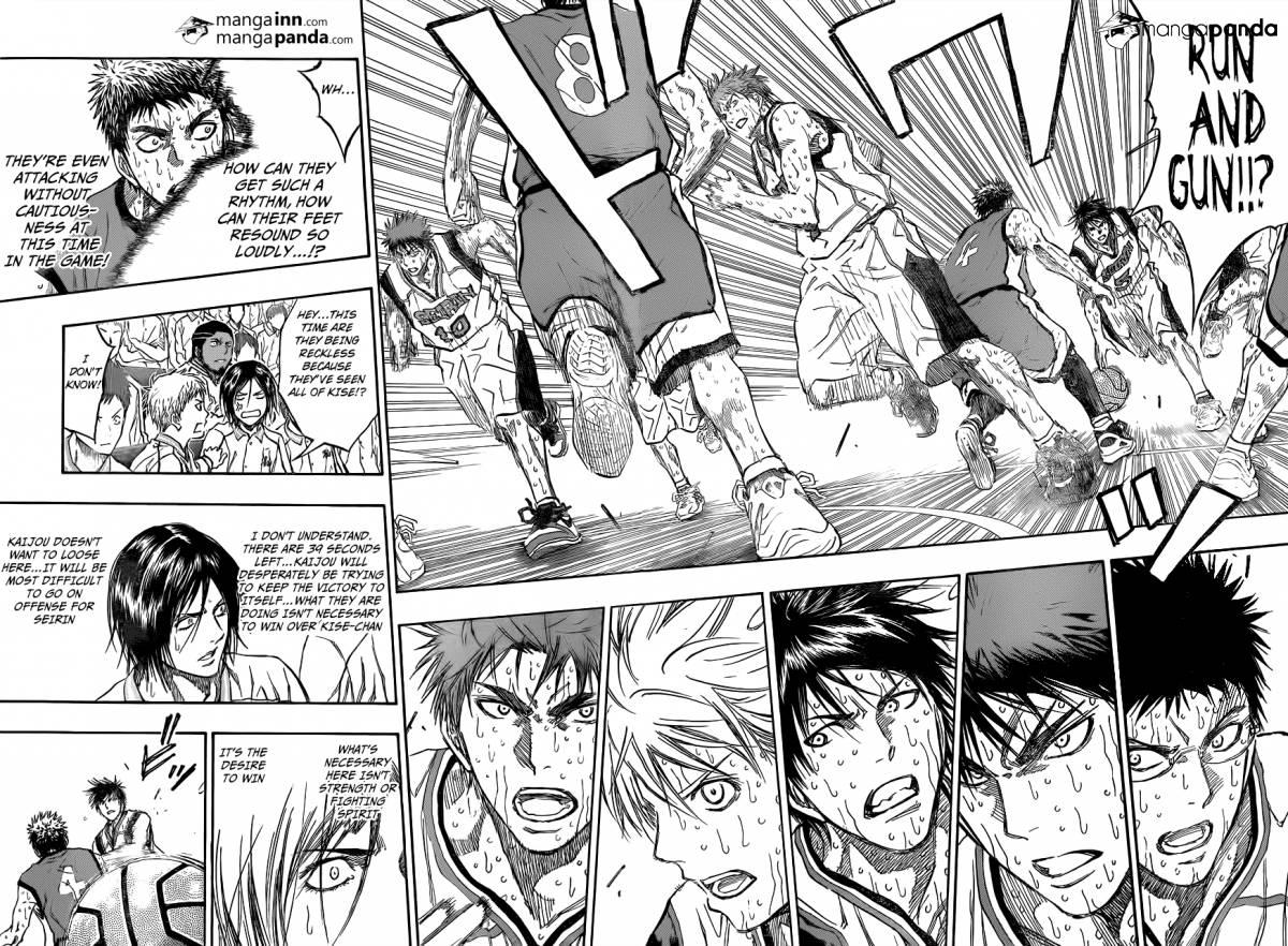 Kuroko no Basket Manga Chapter 200 - Image 08-09