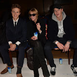 OIC - ENTSIMAGES.COM -  Dan Olsen, Anna Winslet and Luke Stevens at the  LFW s/s 2016: Sorapol - catwalk show in London 19th September 2015 Photo Mobis Photos/OIC 0203 174 1069