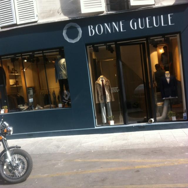 Shopping homme : boutique Bonne Gueule rueCommines !