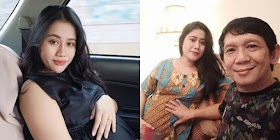 Pesona Tiara Amalia Istri Komedian Ginanjar, Selisih 32 Tahun dari Suami Kini Tengah Hamil Tua