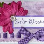 EA0255-D Easter Blessings