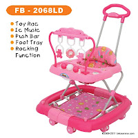 3 in One Baby Walker FAMILY FB2068LD