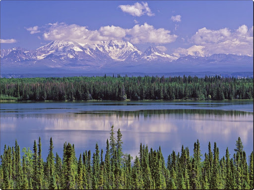 Willow Lake and Mount Wrangell, Wrangell Saint Elias National Park, Alaska.jpg