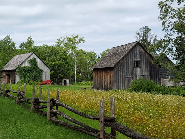 The 1860 Doucet Farm, Acadian Historical Village, New Brunswick