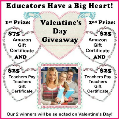 Educators Have a Big Heart Giveaway! image
