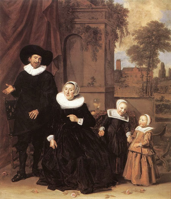 Frans Hals - Family Portrait