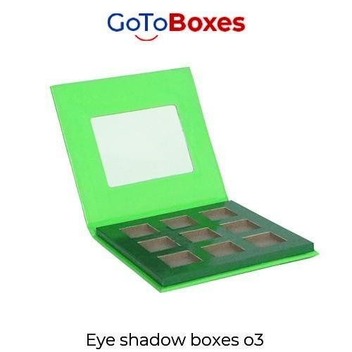 Eye Shadow Boxes Wholesale