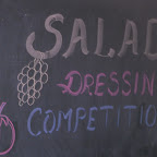 Salad Dressing Competition 2012-13