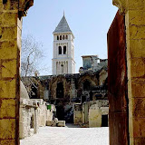 5. Ethiopian Orthodox Monastery on the Roof of the Church of the Holy Sepulchre. Old City of Jerusalem