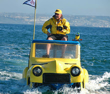 DA-Woody (aka Dennis St Onge)- on car photo boat in San Diego