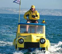 DA-Woody (aka Dennis St Onge)- on car photo boat in San Diego