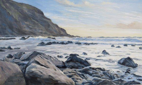 Warren Point. Artist Lawrence Dyer