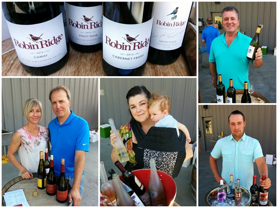 A lunch visit from the winemakers of the Similkameen Valley